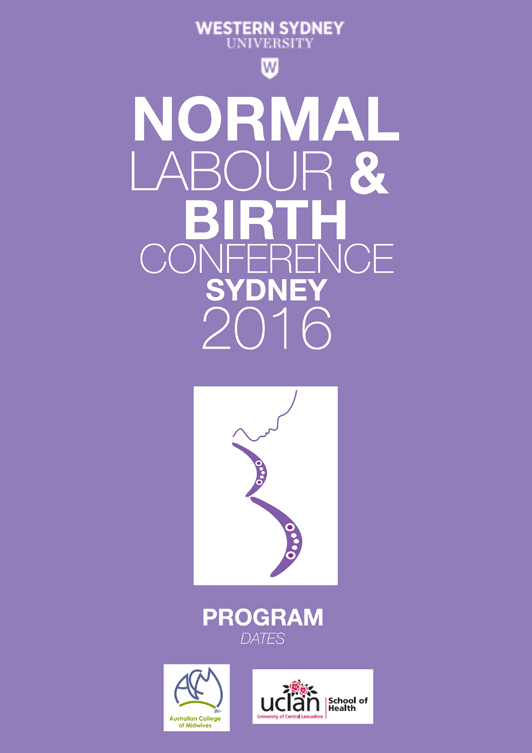 NORMAL LABOUR & BIRTH CONFERENCE SYDNEY 2016